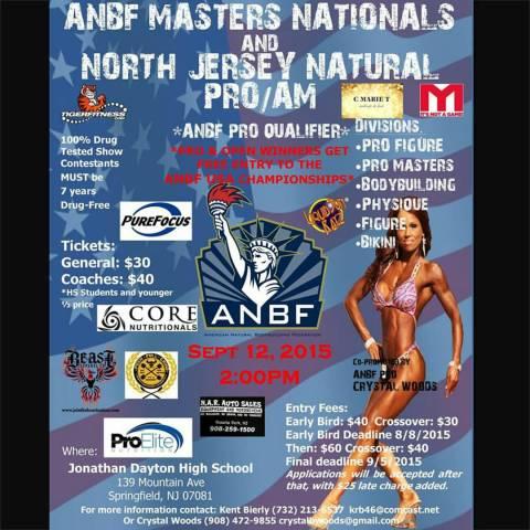 (ANBF) Masters Nationals